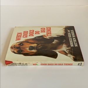 Book | Vintage When Good Dogs Do Bad Things Pet
